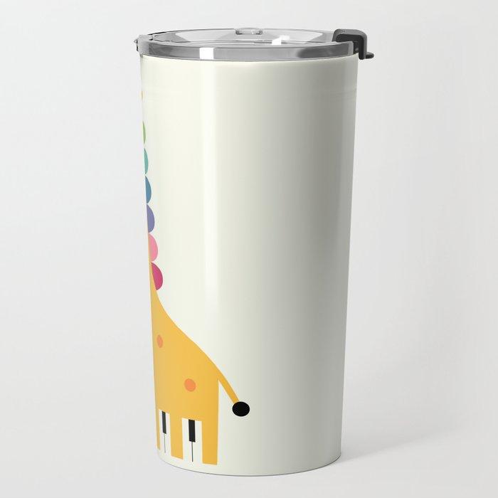 Giraffe Piano Travel Mug