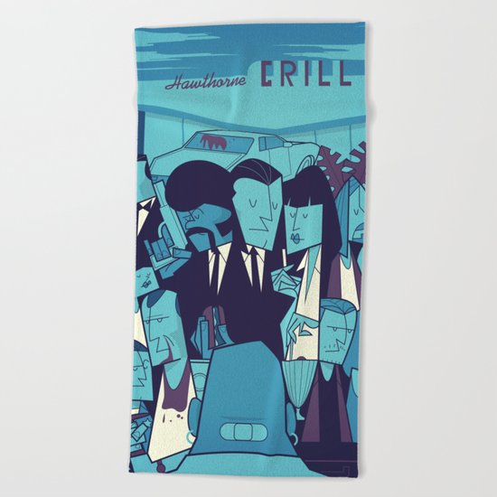 Royal with Cheese (variant) Beach Towel