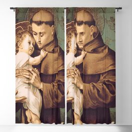 St Anthony of Padua Blackout Curtain