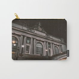 Architecture building in the night Carry-All Pouch