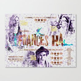 Frances Ha Canvas Print