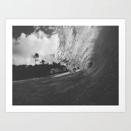 Windy Sorrow Art Print