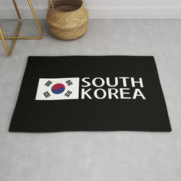 South Korea: South Korean Flag & South Korea Rug
