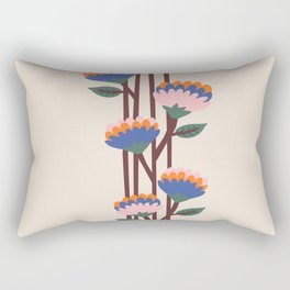 Henri Flowers Rectangular Pillow