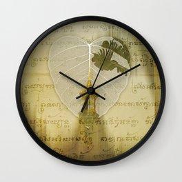 Asia Rain Wall Clock