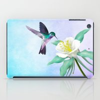 hummingbird iPad Cases featuring hummingbird. by haroulita