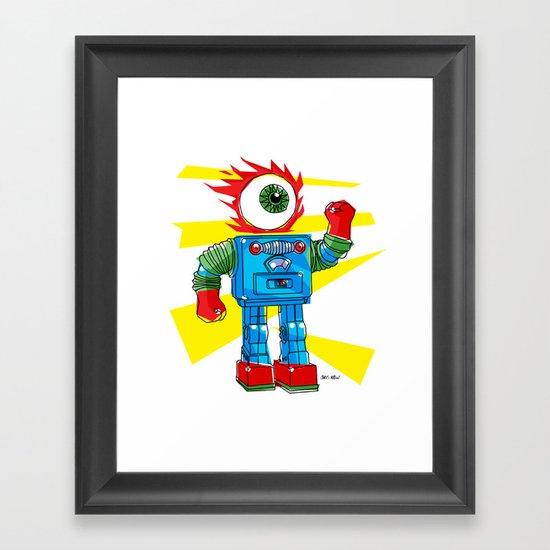EYE-ROBOT Framed Art Print