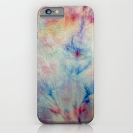 Tye Dye Kaleidoscope Sunset iPhone Case