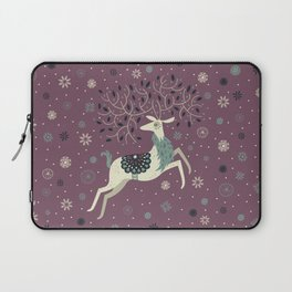 Prancing Reindeer Laptop Sleeve