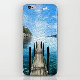 The Board Walk iPhone Skin