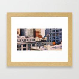 Batophobia Framed Art Print