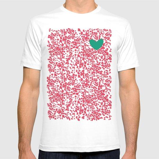 Animal Print Pink T-shirt