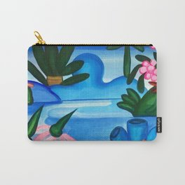 Classical Masterpiece 'The Lake' by Tarsila do Amaral Carry-All Pouch