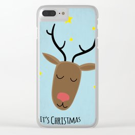 Its Christmas Clear iPhone Case