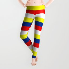 Malaysia Philippines Venezuela flag stripes Leggings