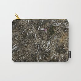 Heather Bell & Wood Fragments Carry-All Pouch