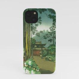 Forest Spirits Kodama  iPhone Case