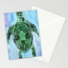 Tatoo Sea Turtle Stationery Cards
