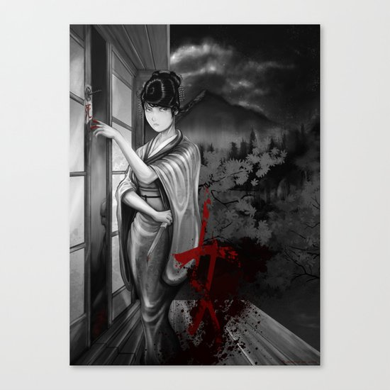 Kunoichi 2 of 4 Canvas Print
