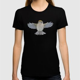 Goldcrest in top T-shirt