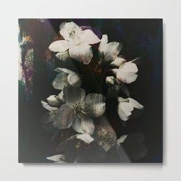 floral texture x Metal Print