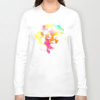 marilyn Long Sleeve T-shirts featuring Marilyn by Fimbis