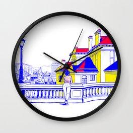 Romania Wall Clock
