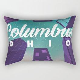 Colombus Ohio Rectangular Pillow