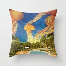 You can stand under my umbrella Throw Pillow