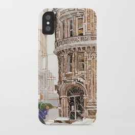 Winter in NYC iPhone Case