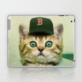 Baseball Kitten #3 Laptop & iPad Skin