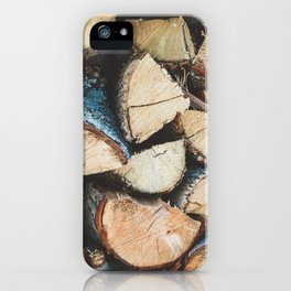 Wood / Photography Print / Photography / Color Photography iPhone Case