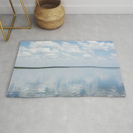 Reflections of Clouds Rug