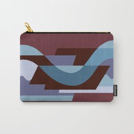 SUISSE - Art Deco Modern: BALORAMA LOUNGE Carry-All Pouch