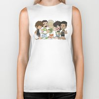 1d Biker Tanks featuring Sleepy 1D by Ashley R. Guillory