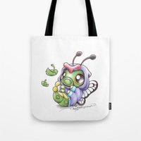 projectrocket Tote Bags featuring Just wanna be Free! by Randy C