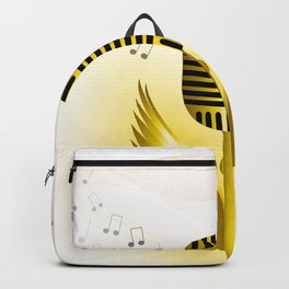 Music is soaring Backpack