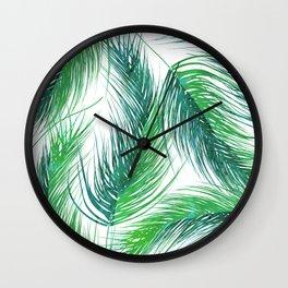 Bed Head Palm | #society6 #decor #buyart Wall Clock