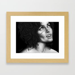 Helena Bonham Carter Framed Art Print