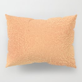 Simply Metallic in Copper Pillow Sham
