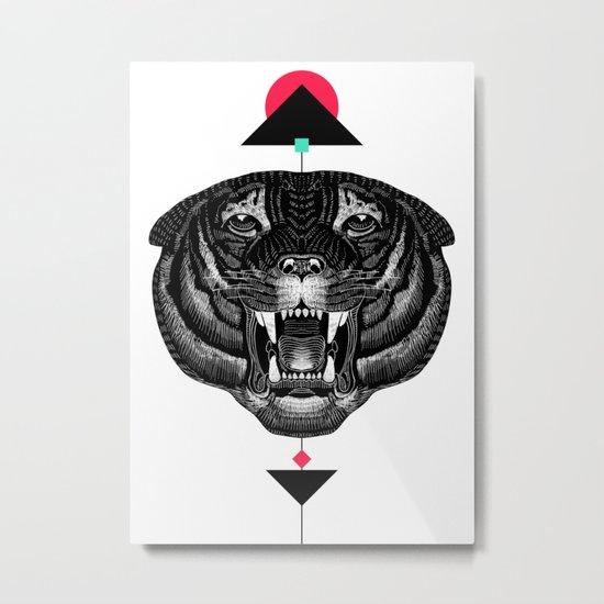 Roar My *--Tiger--* Metal Print