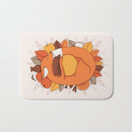 Fox Apple Sauce Bath Mat
