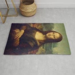 Mona Lisa - Leonardo da Vinci Rug