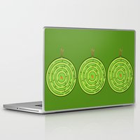 labyrinth Laptop & iPad Skins featuring Labyrinth by KATUDESIGN