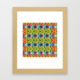 Circle design number 6 Framed Art Print