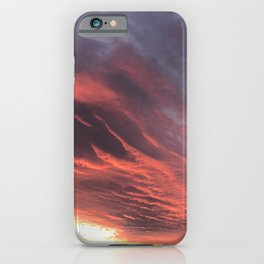 That Once in a Lifetime Sunset iPhone Case