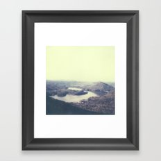 Ocoee River Polaroid Framed Art Print