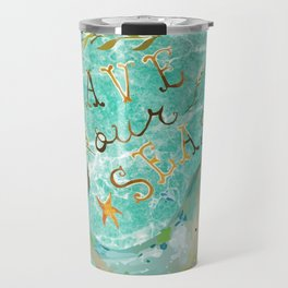Save our Seas Travel Mug