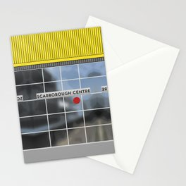 SCARBOROUGH CENTRE RT Station Stationery Cards