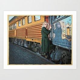A Departure Art Print